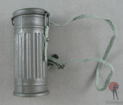 DID - Gas Mask Container - Metal - Grey