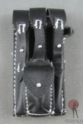 DID - Tripple MP-40 Magazine Pouch - Front Pouch - Leather - Black
