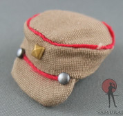 Phicen - Hat - Brown - Red Trim