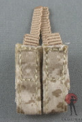 Soldier Story - Mag Pouch - Double Pistol - Desert Digital Camo
