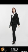 Pop Toys - MI6 Female Agent in Black