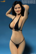 Phicen - Female Body - Seamless Stainless - Pale Big Bust - Black Bikini