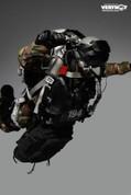Very Hot - U.S. Navy Seal HALO UDT Jumper Camo Dry Suit Version Accessory Set