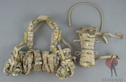 Very Hot - Chest Rig - Recon Style - Hydration Pack /w Hose - Multicam