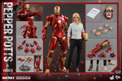 Hot Toys - Iron Man 3 - Pepper Potts and Mark IX Armor