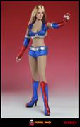 Super Duck - Cheerleading Action Figure Set - Blue