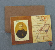 Other - Accessory -WW2 German Soldier ID Booklet - Backing