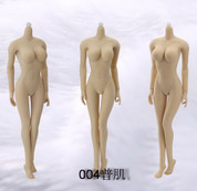 Jiaou Doll - Female Seamless Body in Pale/Large Bust Size