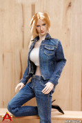 ACPLAY - Cowgirl Clothing Set A - Blue