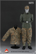 Alert Line - Wehrmacht Camouflage Uniform Suit - Oak Leaf Pattern