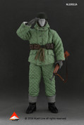 Alert Line - Wehrmacht Paratroopers Double-Sided Cotton-Padded Jacket Suits - Green