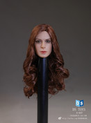 DS Toys - Female Headsculpt with Long Curly Hair