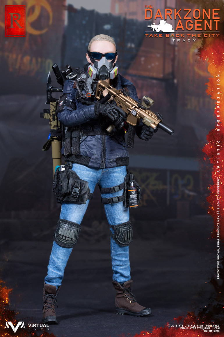 VTS Toys - The Darkzone Agent TRACY R Version