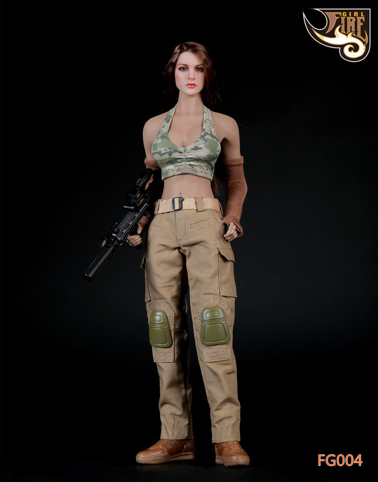 Fire Girl - Tactical Shooter Fire Series Suite
