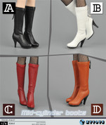ZY Toys - MidCylinder Boots