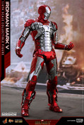 Hot Toys - Iron Man 2 -  Iron Man Mark V Diecast Movie Masterpiece