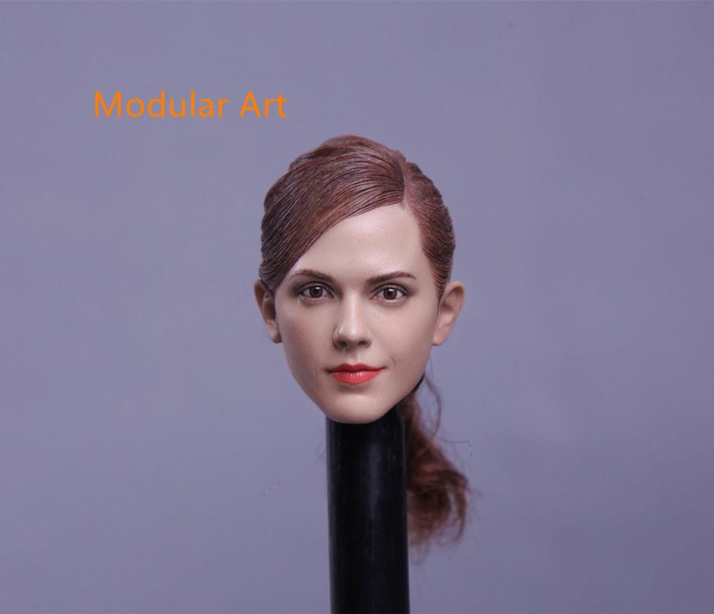 Modular Art - Female Headsculpt with Ponytail