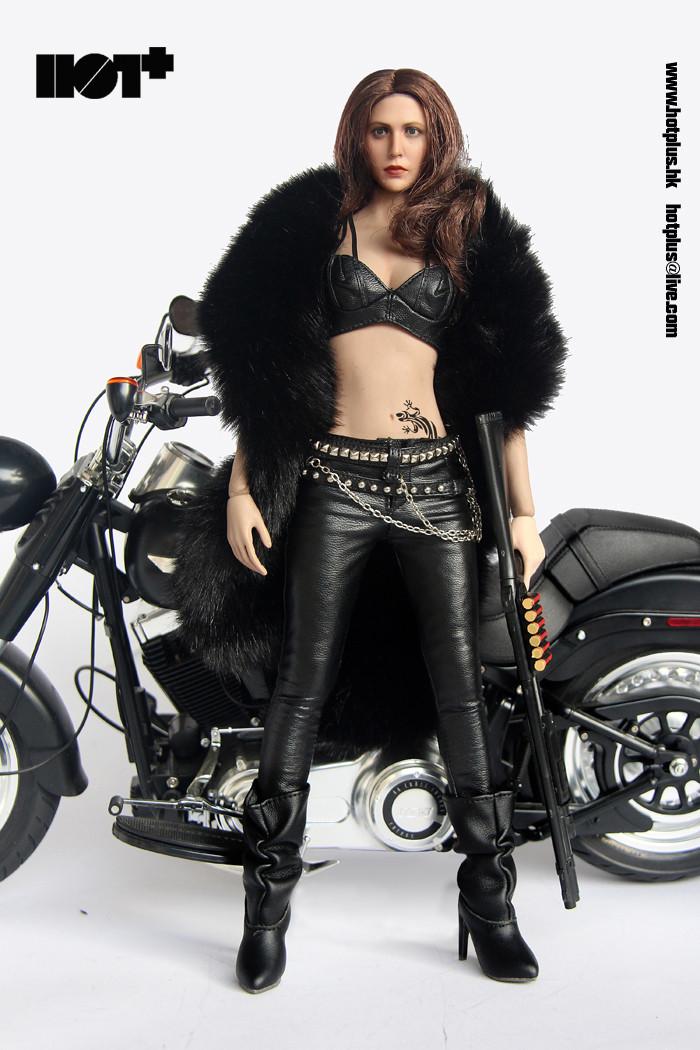 Hot Plus - Motorcycle Jacket Girl