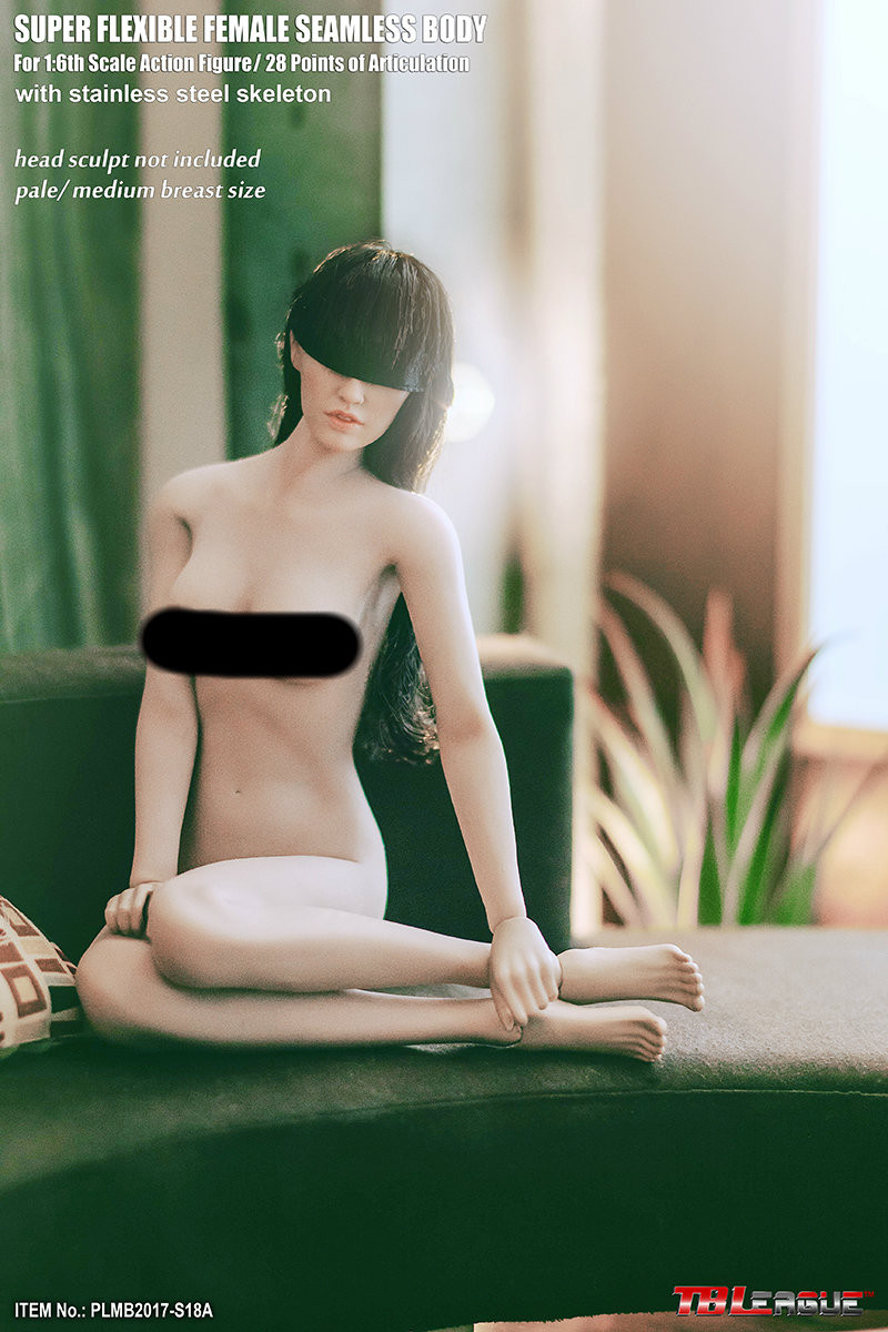Phicen - Super Flexible Seamless Female Body - S18A