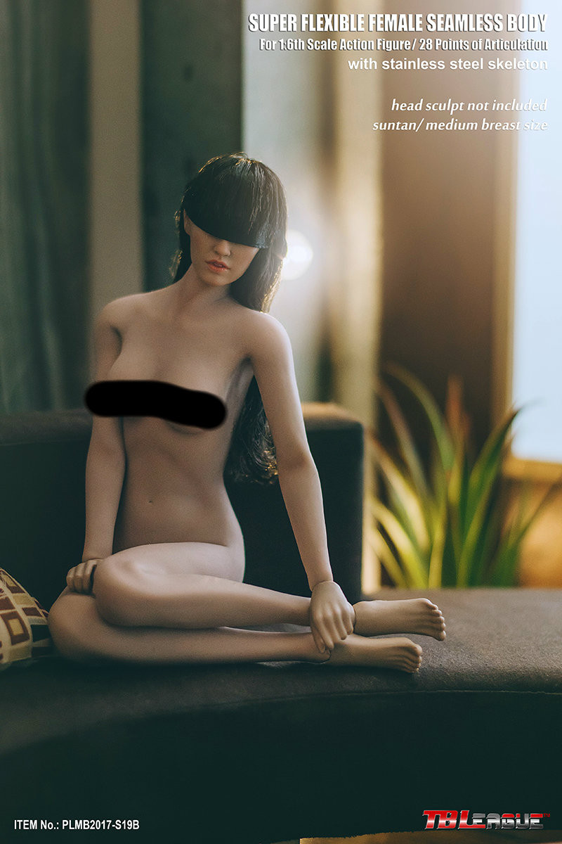 Phicen - Super Flexible Seamless Female Body - S19B