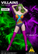 Flirty Girl - Villain - Clown