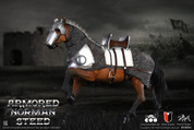 Coo Model - Series of Empires Diecast Alloy: Amored Norman Steed