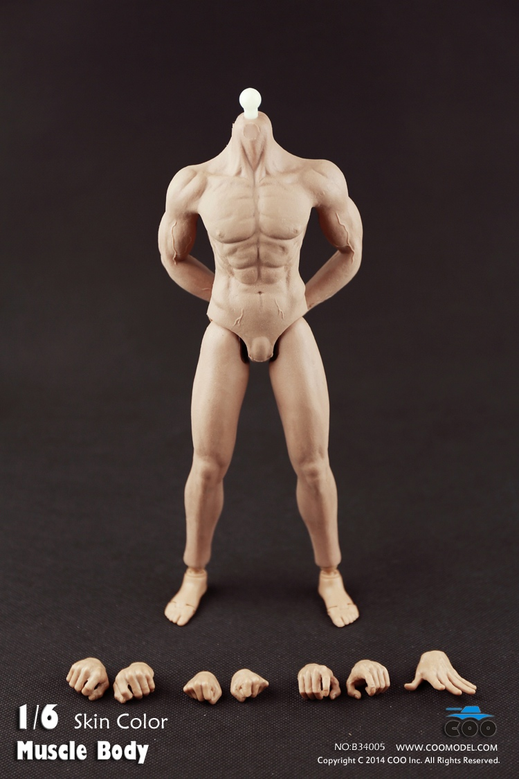 COO Model - Rubber Muscular Male Body CM-B34005