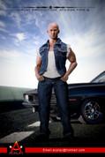 AC Play - Dominic Toretto Denim Vest Set