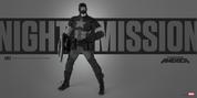ThreeA - Night Mission Captain America