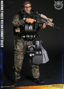 Dam Toys - Marine Force Recon Combat Diver - Woodland Marpat Version