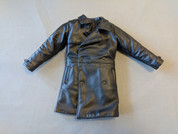 Other - Modern Civilian - Outerwear: Male Black Leather Trench Coat