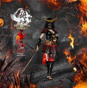 Fire Girl Toys - Warring States of Japanese Women: Warrior Suit Eadda Tokuhime - Black