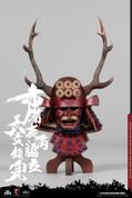 COO Model - Red Buckhorn Six-Coin Kabuto Helmet