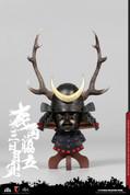 COO Model - Black Buckhorn Six-Coin Kabuto Helmet