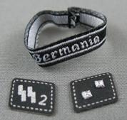 3R - Bermania Armband / SS Collar Tabs