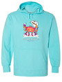 Crab Shuffle (2020)~Comfort Colors French Terry Beach Hoodie