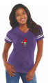 Pothead~ L.A.T Ladies Fine Jersey Football Tee