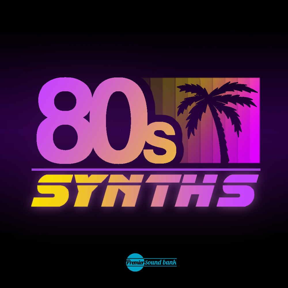 download 80 39 s synths synth loops synth shots sample pack premier sound bank. Black Bedroom Furniture Sets. Home Design Ideas