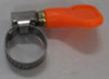 Easy-turn hose clamp 5/8""