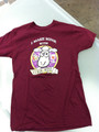 Curds and Wine logo shirt/small