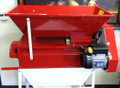 Motoroized crusher/destemmer - painted hopper