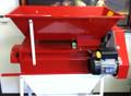 Motoroized crusher/destemmer - painted hopper