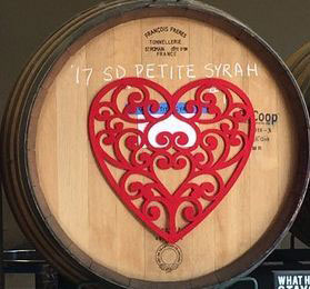 Highland Valley Vineyards Valentine Barrel