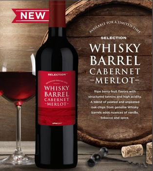 Whisky Barrel Cab Merlot