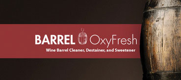 Barrel oxyfresh