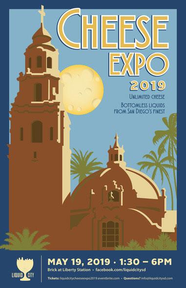 2019_LiquidCity_Cheese Expo_Poster
