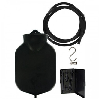 Master Series Deluge Deluxe Black Enema Set
