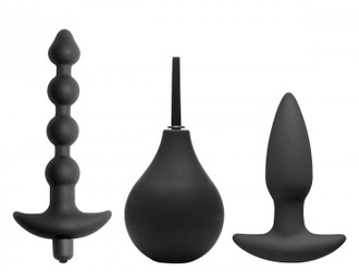 Master Series - Prevision - 4 Piece Silicone Anal Kit