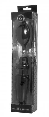 Master Series - Expander Inflatable Anal Plug with Removable Pump