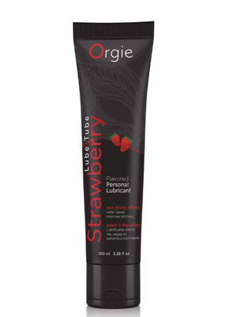 Orgie - Lube Tube Strawberry - 100ml